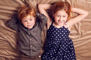 Fotos de estudio con niños