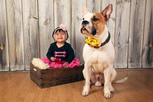 Fotos de niños y mascotas
