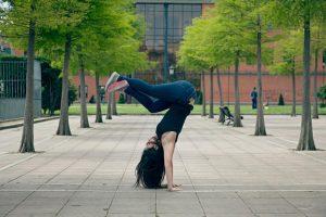 Sesión de fotos bailarina