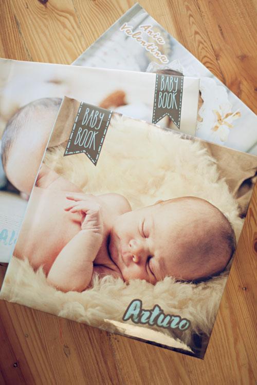 Sesión de fotos con bebé